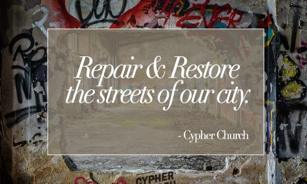 Repair and restore the streets of our city